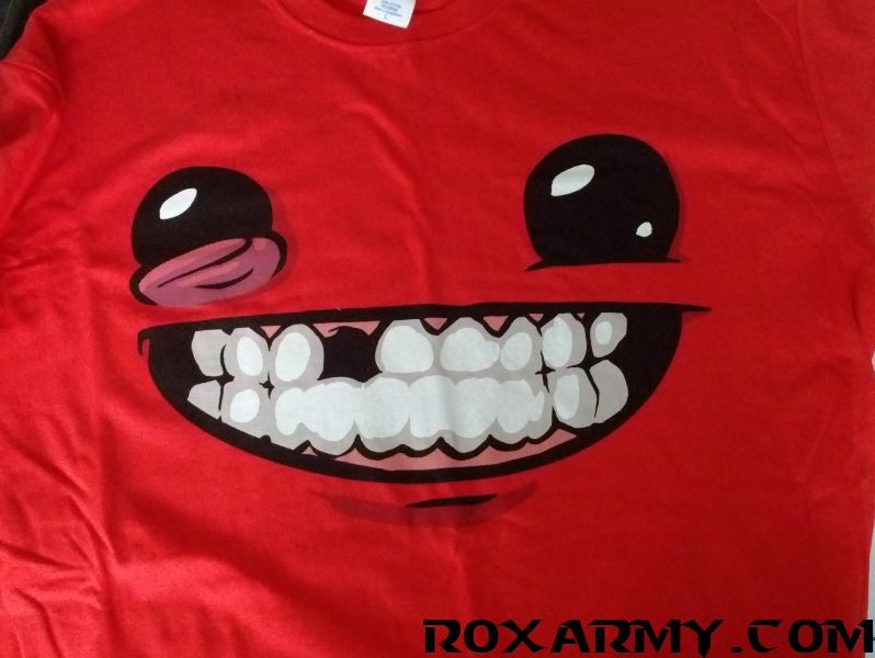 tee-shirt - super meat boy