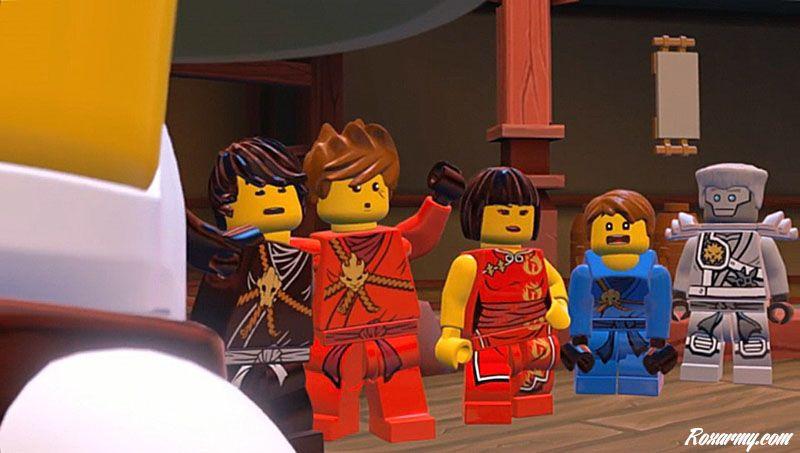 Lego ninjago l 39 ombre de ronin sur psvita test - Ninjago dessin anime ...