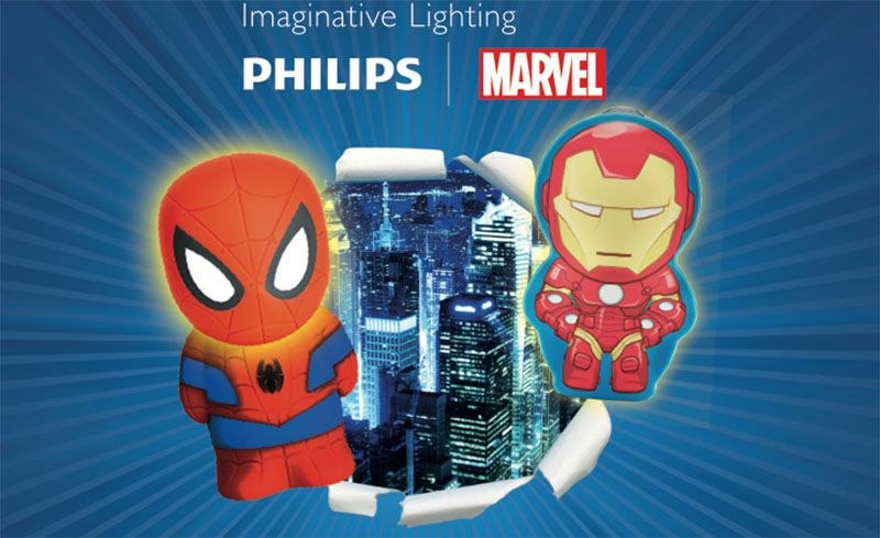 Les Super Lampes Philips Marvel