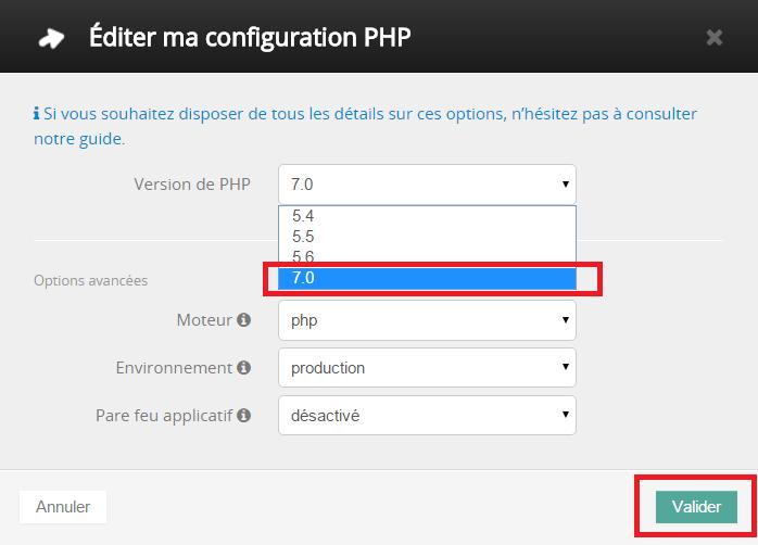 derniere version php