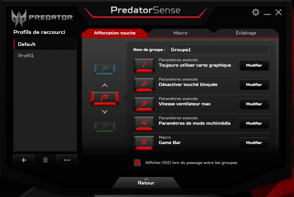 predatorSense