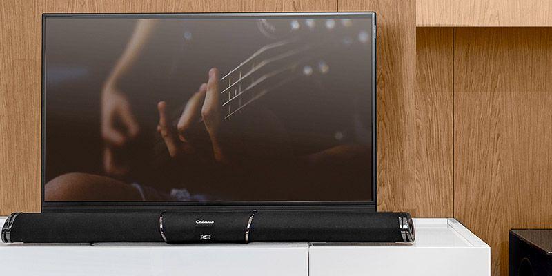 test de la stream bar de cabasse barre de son streaming et home cinema haute fid lit. Black Bedroom Furniture Sets. Home Design Ideas