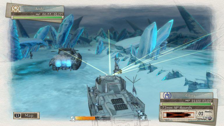 Valkyria Chronicles_4_gameplay