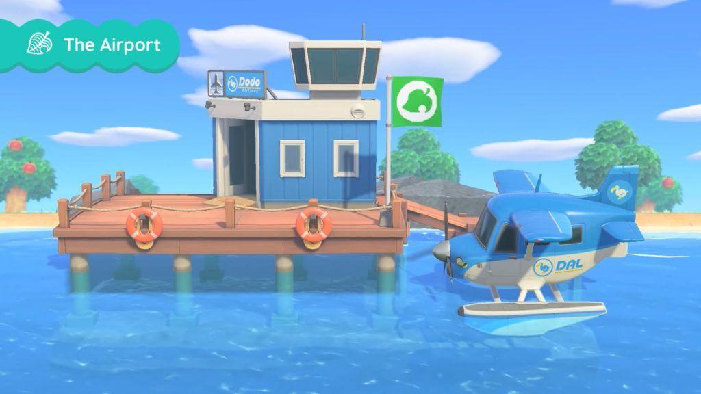 Animal Crossing New Horizons plane